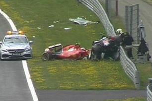 Alonso, Raikkonen may man thoat nan tai Austrian GP hinh anh