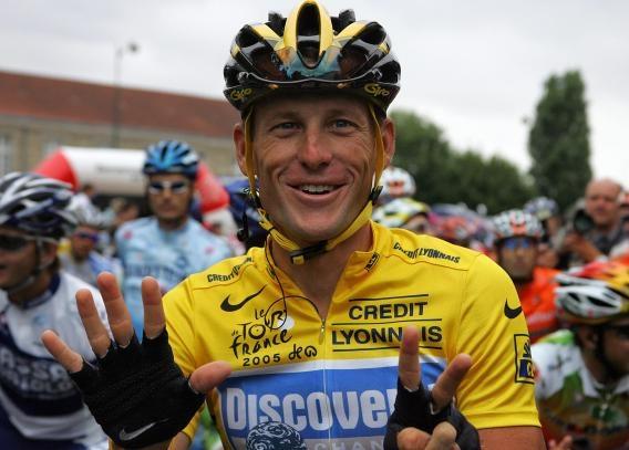 Lance Armstrong tro lai duong dua Tour de France hinh anh
