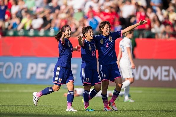 Thang kich tinh Anh, Nhat Ban vao chung ket World Cup nu hinh anh