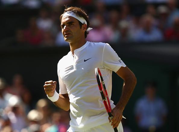 Federer ha guc ky luc gia phat bong tai vong 3 Wimbledon hinh anh