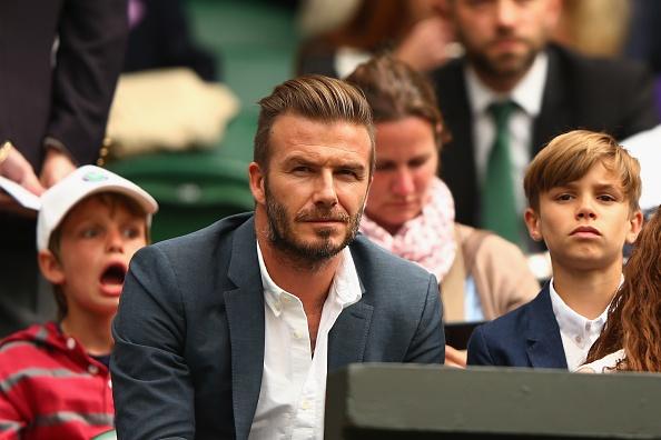 David Beckham va dan khach VIP co vu Andy Murray hinh anh