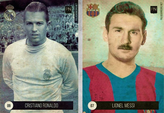Ronaldo, Messi se ra sao neu choi bong o the ky truoc? hinh anh