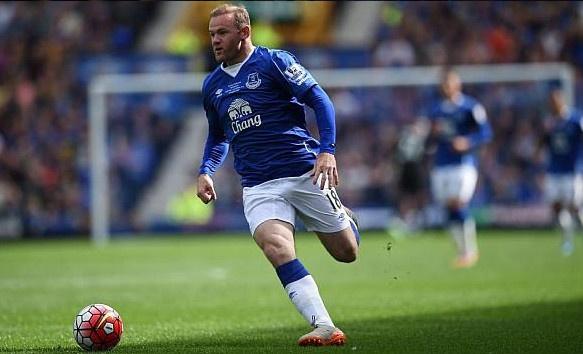 Wayne Rooney tro lai khoac ao Everton hinh anh