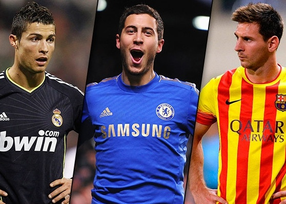 Hazard thua nhan chua dat den dang cap cua Ronaldo, Messi hinh anh