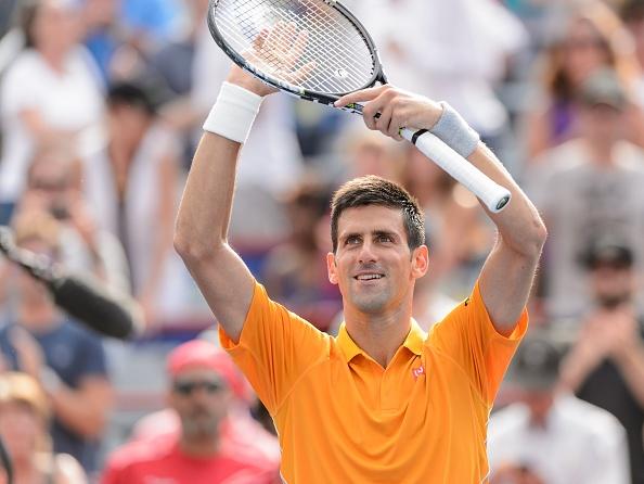 Djokovic lan thu tu vao chung ket Rogers Cup hinh anh