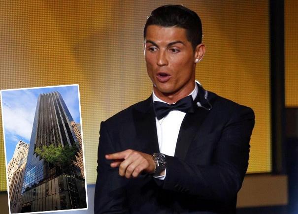 Lo bang chung Ronaldo se sang My thi dau hinh anh 1