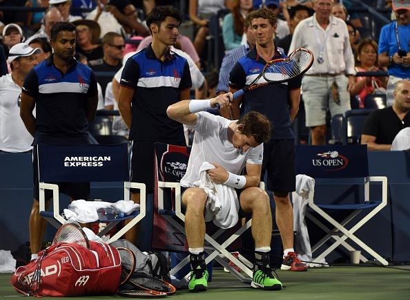 Murray dap nat vot trong tran thua Anderson hinh anh 3