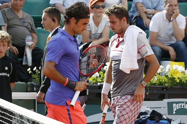 Federer dai chien Wawrinka tai ban ket US Open hinh anh 2