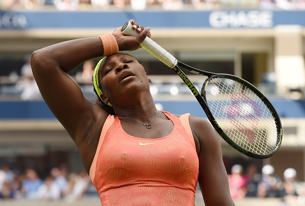 Ban ket US Open 2015: Serena Williams 1-2 Roberta Vinci hinh anh
