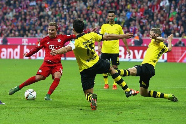 Lewandowski, Mueller lap cu dup giup Bayern ha Dortmund 5-1 hinh anh 14