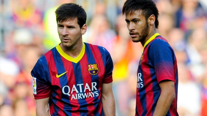 HLV Enrique dap tat y dinh thay the Messi cua Neymar hinh anh 1