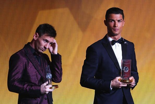 Messi ap dao Ronaldo cuoc bau chon cau thu hay nhat the gioi hinh anh