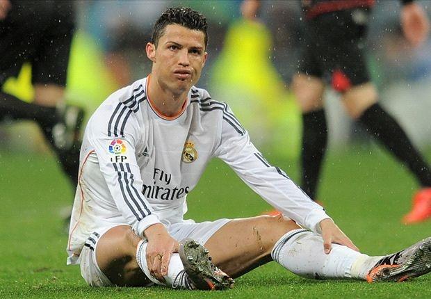 'Ronaldo chia tay Real trong he toi' hinh anh