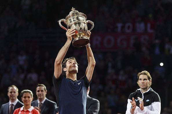 Nhoc nhan ha Nadal, Federer lan thu 7 dang quang Basel Open hinh anh