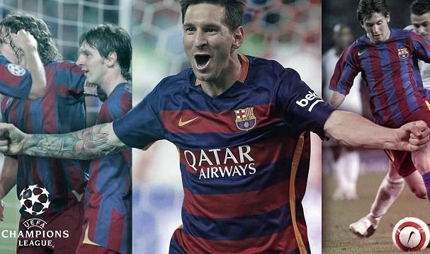 Top 10 ban thang cua Messi tai Champions League hinh anh