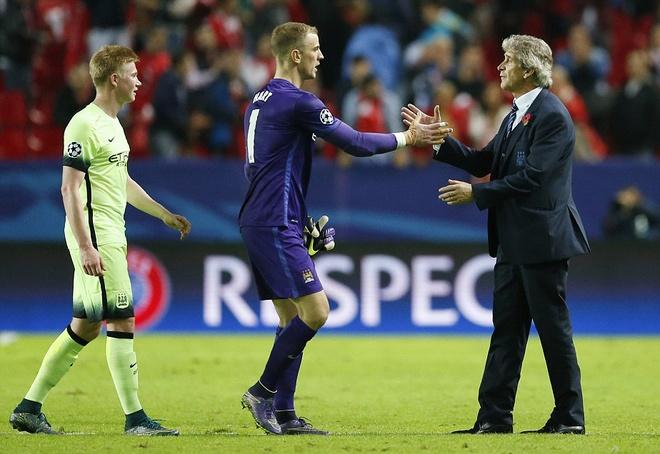 Ha Sevilla 3-1, Man City gianh ve vao vong knock-out hinh anh 11