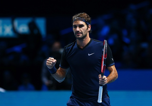 Federer dai chien Djokovic o chung ket ATP World Tour Finals hinh anh 4
