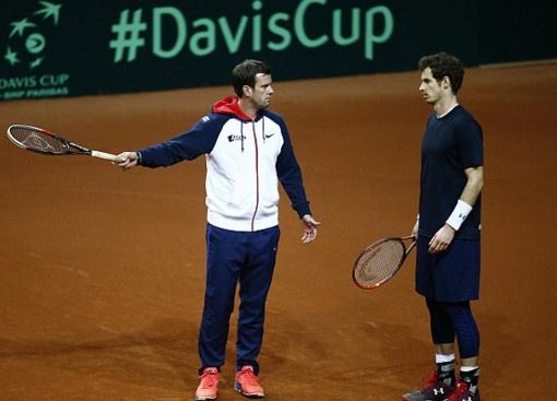 Tuyen Anh du chung ket Davis Cup trong noi lo khung bo hinh anh