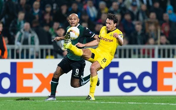 Hummels mac loi, Dortmund bat ngo that bai truoc Krasnodar hinh anh