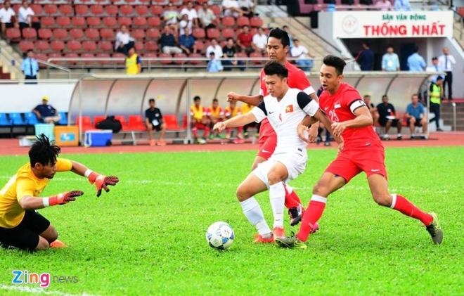 Phung phi co hoi, U21 VN thua Singapore o loat luan luu hinh anh 6