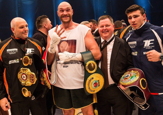 Tyson Fury - 'Ga he Manchester' lam chan dong the gioi hinh anh 1