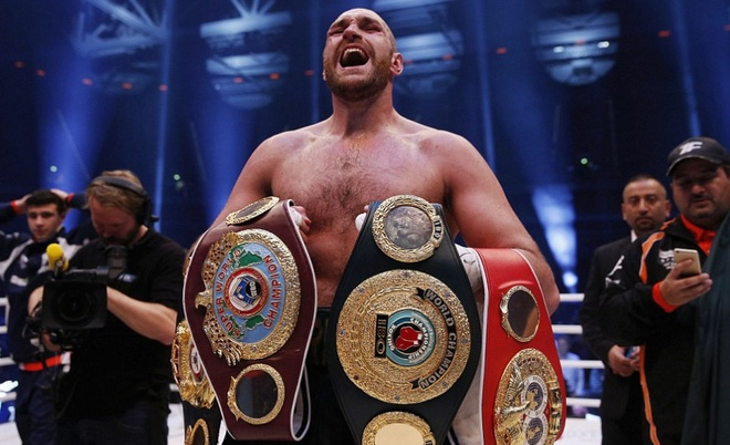 Tyson Fury - 'Ga he Manchester' lam chan dong the gioi hinh anh
