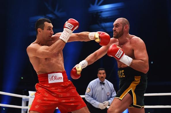 Tran so gang dinh cao: Wladimir Klitschko - Tyson Fury hinh anh
