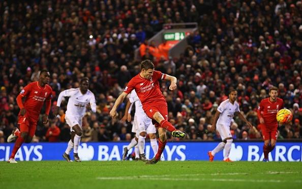 Liverpool 1-0 Swansea: The Kop chi con cach ngoi dau 6 diem hinh anh 22