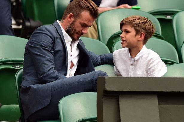 Beckham ton thuong vi con trai bo nghiep bong da hinh anh