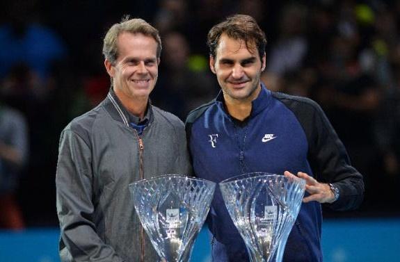 Federer bat ngo ton bai tuong cua minh lam thay hinh anh 1
