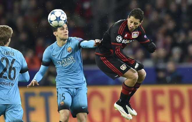 Messi ghi ban, Barca van khong thang Leverkusen hinh anh 8