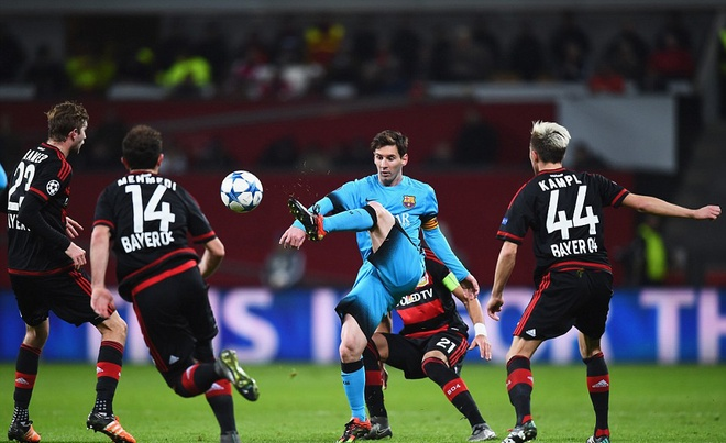 Messi ghi ban, Barca van khong thang Leverkusen hinh anh 5