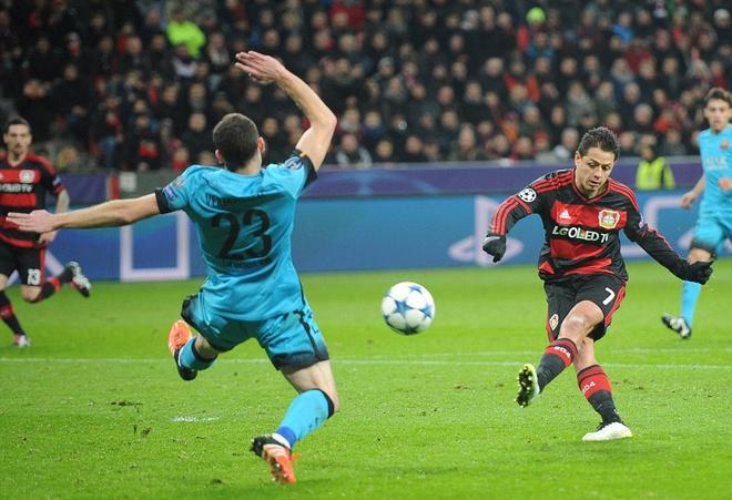 Messi ghi ban, Barca van khong thang Leverkusen hinh anh 6