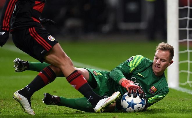 Messi ghi ban, Barca van khong thang Leverkusen hinh anh 9