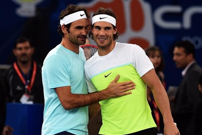 Federer vui ve du that bai truoc Nadal hinh anh