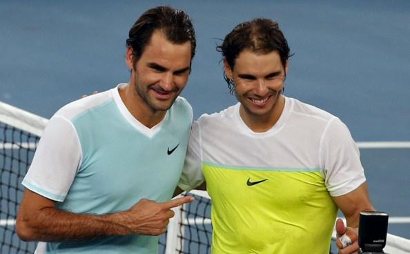 IPTL 2015: Federer 5-6(4) Nadal hinh anh