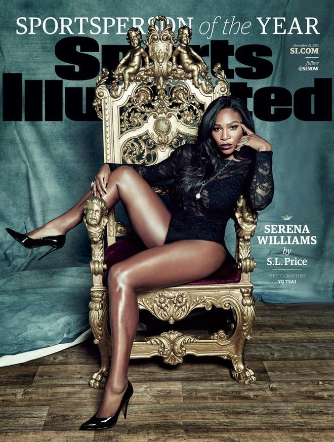 Serena Williams nhan giai VDV hay nhat nam hinh anh 1