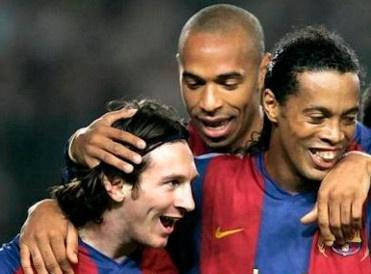 Messi, Ronaldinho chua phai doi tac an y nhat cua Henry hinh anh