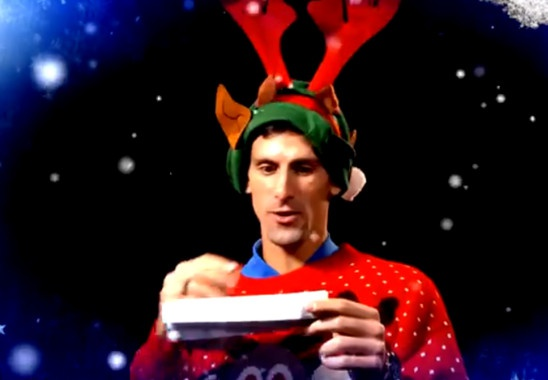 Djokovic, Murray va cac sao ATP hat mung Giang sinh hinh anh