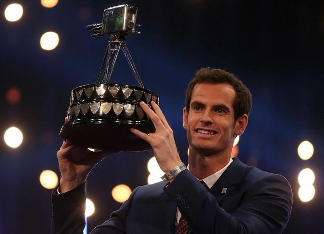 Andy Murray nhan giai VDV hay nhat nam cua Anh hinh anh 1