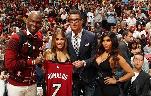 Ronaldo sang My co vu Miami Heat hinh anh 1