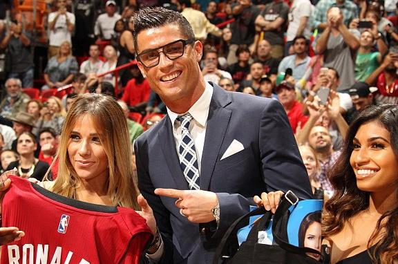 Ronaldo sang My co vu Miami Heat hinh anh 2