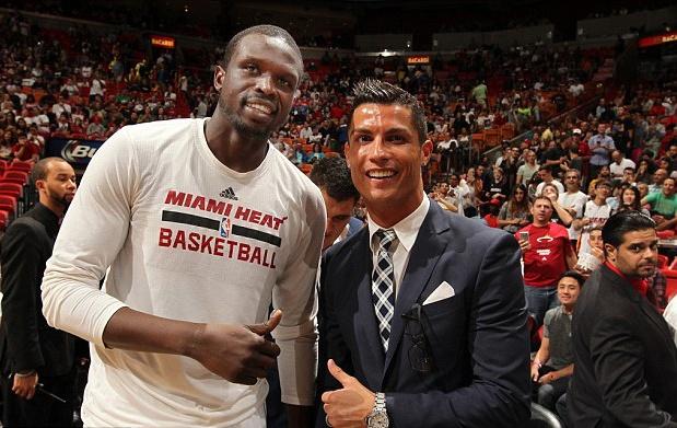 Ronaldo sang My co vu Miami Heat hinh anh 3