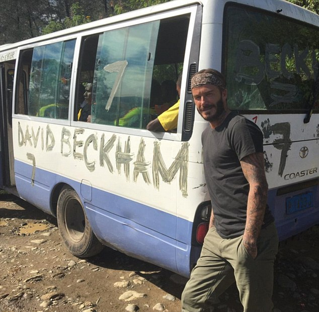 Khoanh khac dang nho cua Beckham o chuyen di 7 luc dia hinh anh 2