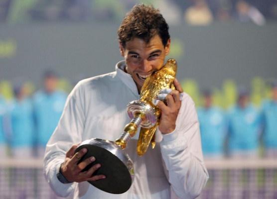 Thang cach biet Nadal, Djokovic lan dau vo dich Qatar Open hinh anh 3