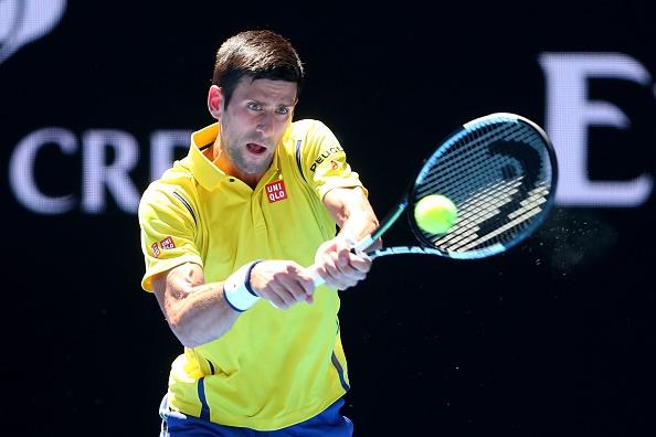 Vong 1 Australian Open 2016: Djokovic 3-0 Hyeon Chung hinh anh