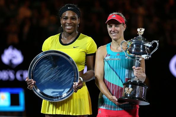 Thang kich tinh Serena, Kerber dang quang Australian Open hinh anh 1