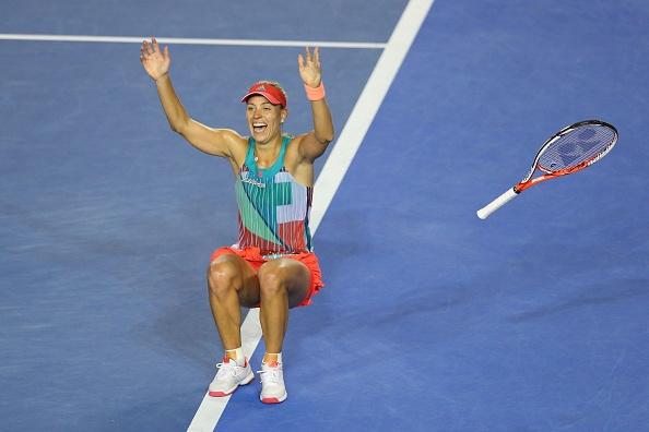 Thang kich tinh Serena, Kerber dang quang Australian Open hinh anh 2