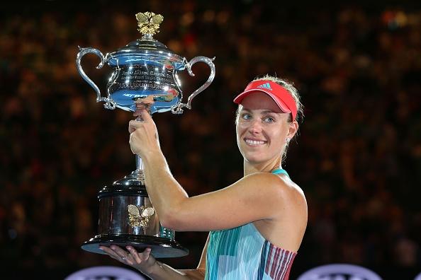 Thang kich tinh Serena, Kerber dang quang Australian Open hinh anh