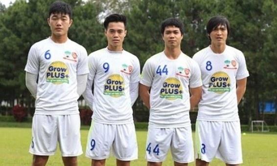 Thang Ha Noi 5-0, HAGL dan dau V.League hinh anh 1